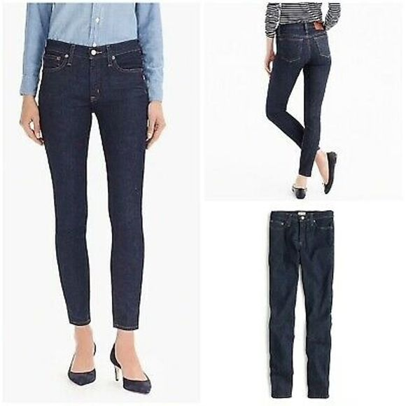 """J. Crew 8"""" Toothpick In Classic Wash Size 26"""